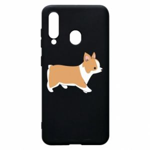 Phone case for Samsung A60 Corgi en route