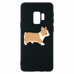 Phone case for Samsung S9 Corgi en route