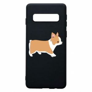 Phone case for Samsung S10 Corgi en route