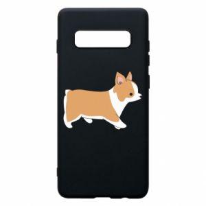 Phone case for Samsung S10+ Corgi en route