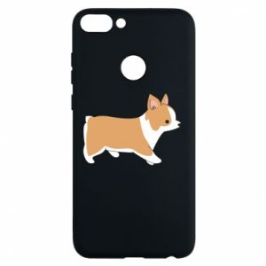 Phone case for Huawei P Smart Corgi en route