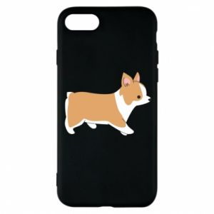 Phone case for iPhone 8 Corgi en route