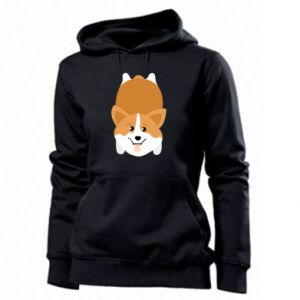 Women's hoodies Corgi - PrintSalon