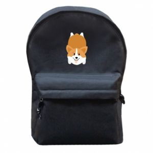 Backpack with front pocket Corgi - PrintSalon