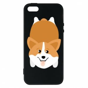 Etui na iPhone 5/5S/SE Corgi