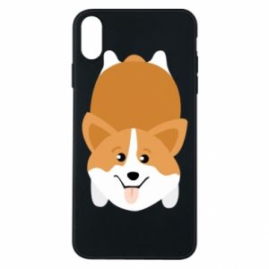 Etui na iPhone Xs Max Corgi