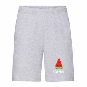Men's shorts Daughter watermelon - PrintSalon