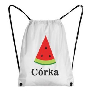 Backpack-bag Daughter watermelon - PrintSalon