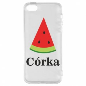Phone case for iPhone 5/5S/SE Daughter watermelon - PrintSalon