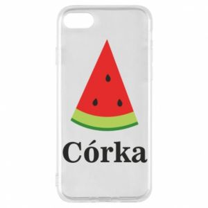 Phone case for iPhone 8 Daughter watermelon