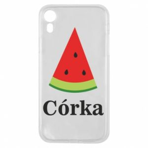 Phone case for iPhone XR Daughter watermelon - PrintSalon