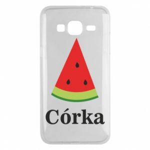 Phone case for Samsung J3 2016 Daughter watermelon