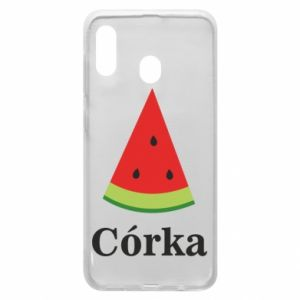 Phone case for Samsung A30 Daughter watermelon - PrintSalon