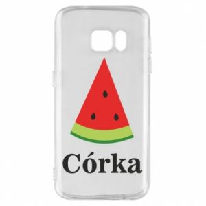 Phone case for Samsung S7 Daughter watermelon