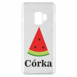Phone case for Samsung S9 Daughter watermelon - PrintSalon