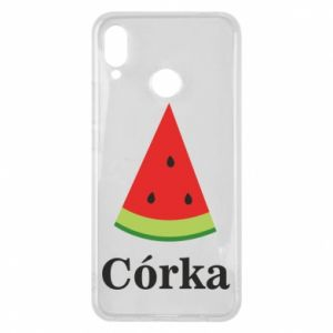 Phone case for Huawei P Smart Plus Daughter watermelon - PrintSalon