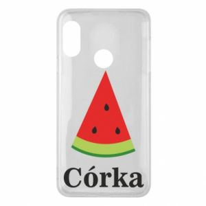 Phone case for Mi A2 Lite Daughter watermelon - PrintSalon