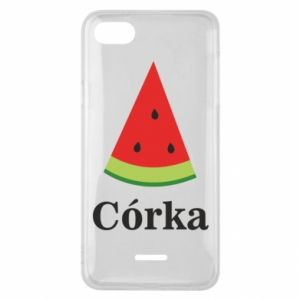 Phone case for Xiaomi Redmi 6A Daughter watermelon - PrintSalon