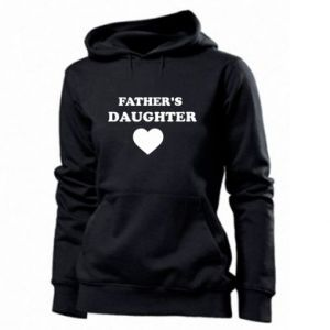 Women's hoodies Father's daughter