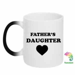 Chameleon mugs Father's daughter