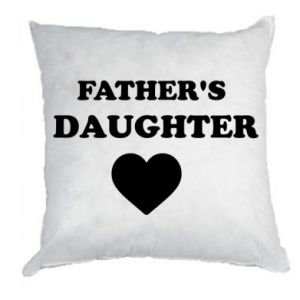 Pillow Father's daughter