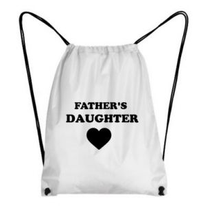 Backpack-bag Father's daughter