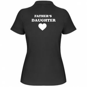 Women's Polo shirt Father's daughter