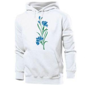 Men's hoodie Cornflowers