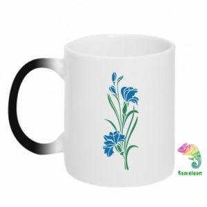 Kubek-kameleon Cornflowers