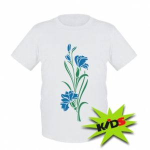 Kids T-shirt Cornflowers