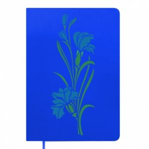 Notepad Cornflowers