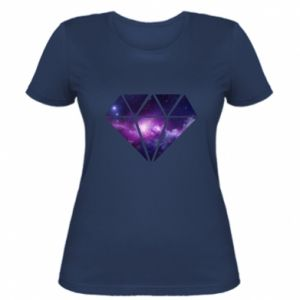 Women's t-shirt Cosmic crystal