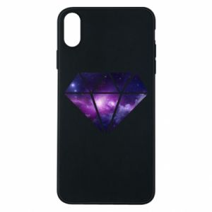 Phone case for iPhone Xs Max Cosmic crystal