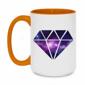 Two-toned mug 450ml Cosmic crystal
