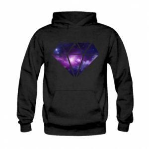 Bluza z kapturem dziecięca Cosmic crystal