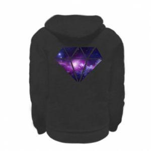 Bluza na zamek dziecięca Cosmic crystal