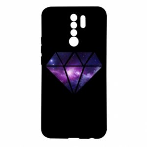Etui na Xiaomi Redmi 9 Cosmic crystal