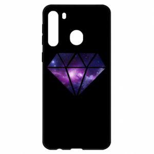 Etui na Samsung A21 Cosmic crystal
