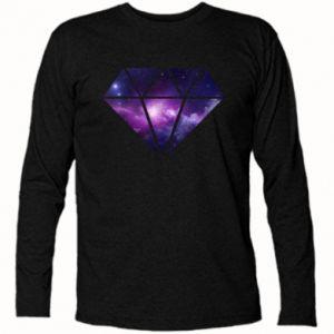 Koszulka z długim rękawem Cosmic crystal - PrintSalon