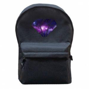 Plecak z przednią kieszenią Cosmic crystal