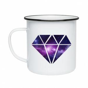 Enameled mug Cosmic crystal