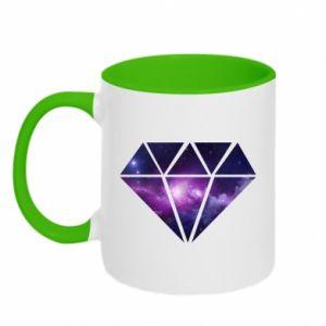 Kubek dwukolorowy Cosmic crystal - PrintSalon