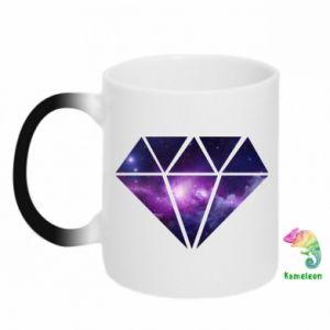 Chameleon mugs Cosmic crystal