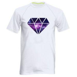 Men's sports t-shirt Cosmic crystal