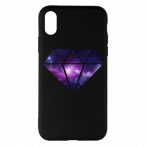 Phone case for iPhone X/Xs Cosmic crystal