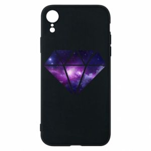 Phone case for iPhone XR Cosmic crystal