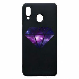 Etui na Samsung A20 Cosmic crystal