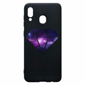 Etui na Samsung A30 Cosmic crystal