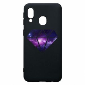 Phone case for Samsung A40 Cosmic crystal