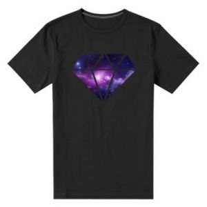 Męska premium koszulka Cosmic crystal - PrintSalon